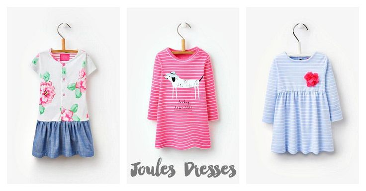 Showing off her personality in Joules Dresses - Lets Talk Mommy