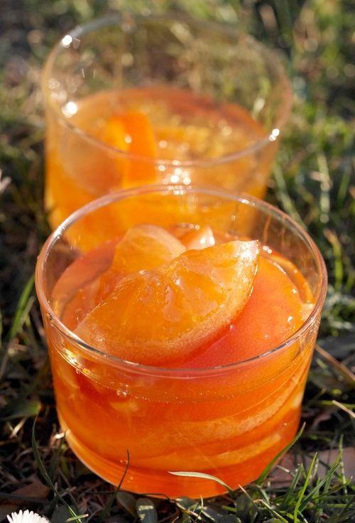 Конфи из апельсинов
