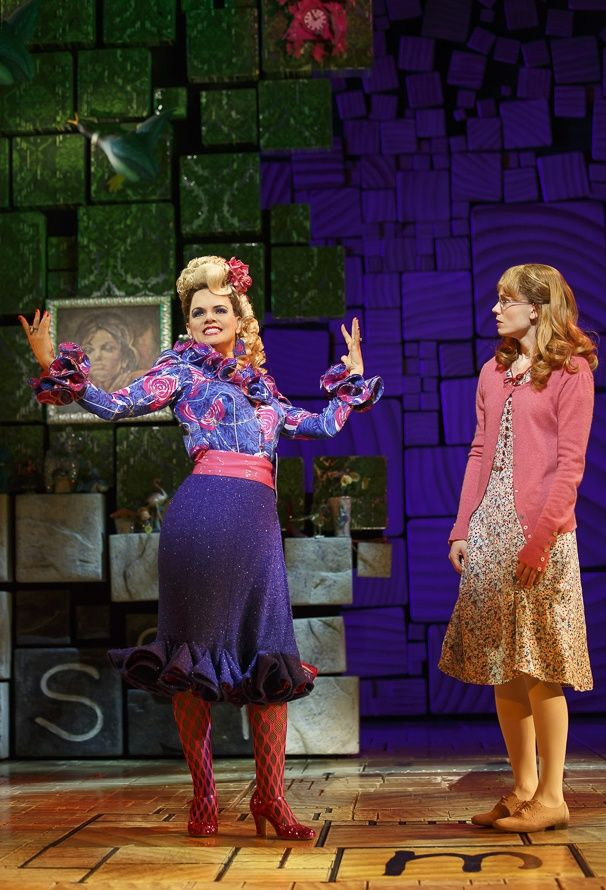 Show Photos - Matilda - 11/15 - Amy Spanger - Allison Case
