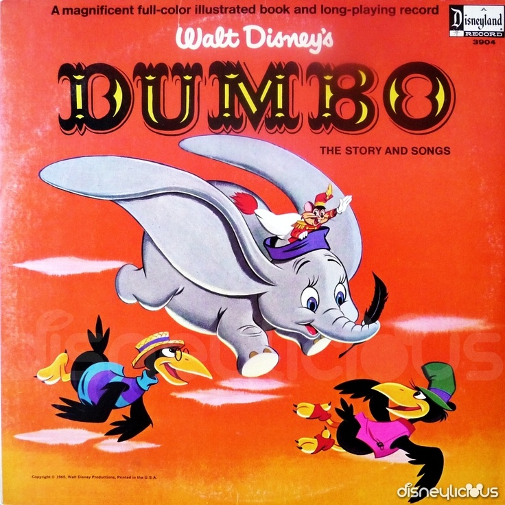 Record & Book: Dumbo