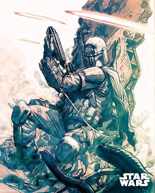 Star Wars - Boba Fett by Carlos D'Anda *
