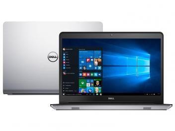 """Notebook Dell Inspiron 14 I14-5448-C25 Intel Core - i7 8GB 1TB Windows 10 LED 14"""" Placa de Vídeo 2GB com as melhores condições você encontra no Magazine Gileo. Confira!"""