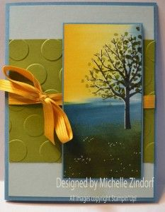 Sheltering Tree Fun – Stampin' Up! Card and Cell Phone Art