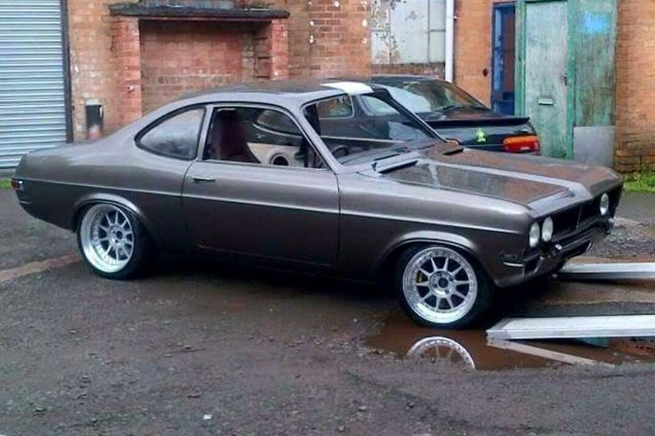Beautiful Vauxhall Firenza - slightly modified