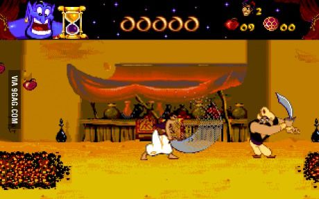 Anyone remember this game? Back to the 1993 weehoo!... but I never passed the level with the lava