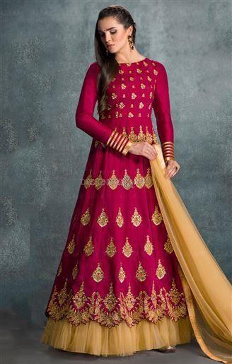 Indian designer anarkali dresses online India with price for woman UK
