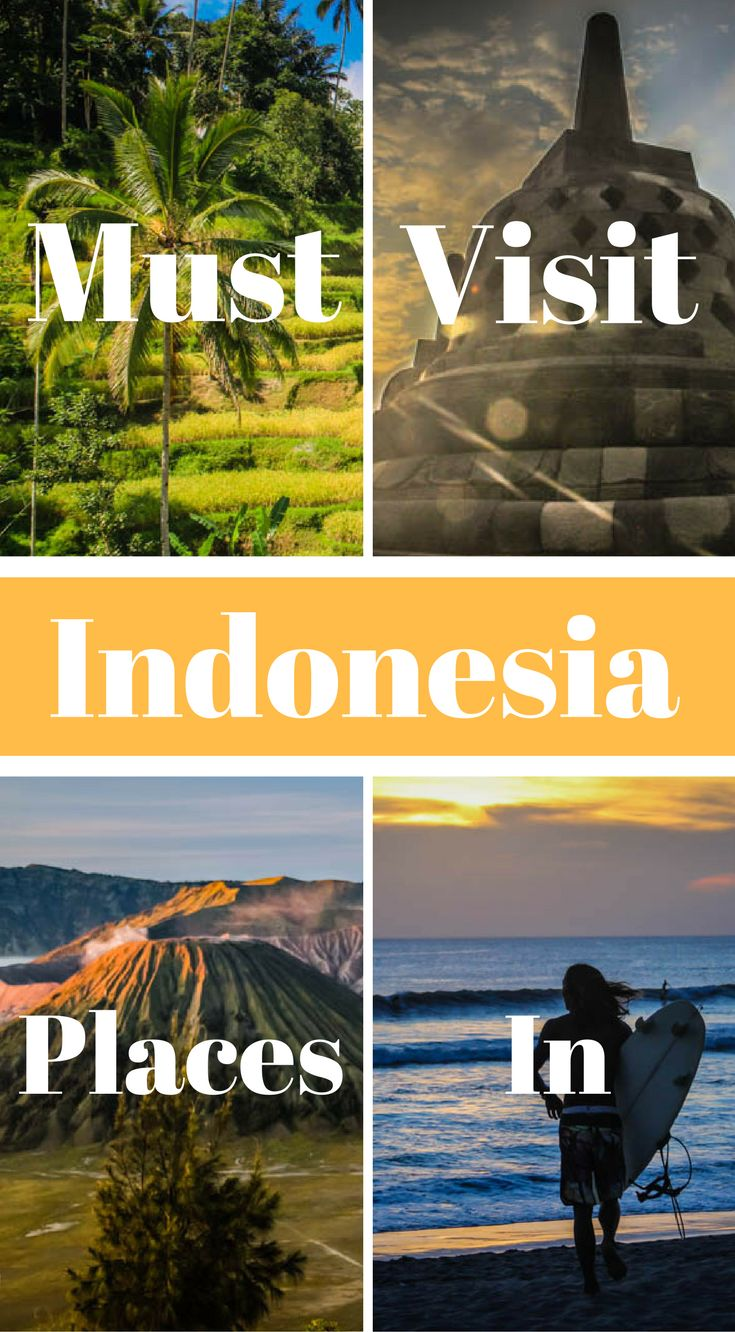 Must visit places in Indonesia. This guide is not exclusive to all the wonder on offer in Indonesia but we're hoping it will provide you with the inspiration you need to plan your own adventures to this fabulous country. Click to read more at http://www.divergenttravelers.com/must-visit-places-in-indonesia/