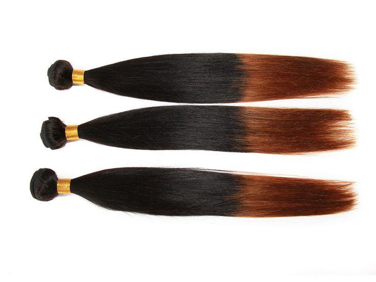 US Ship Ombre Straight Brazilian Human Extension Dip dye Pretty 1B/30#50g/bundle #wigiss #HairExtension http://www.ebay.com/itm/US-Ship-Ombre-Straight-Brazilian-Human-Extension-Dip-dye-Pretty-1B-30-50g-bundle-/321638569088?pt=US_Hair_Extensions&hash=item4ae3271480