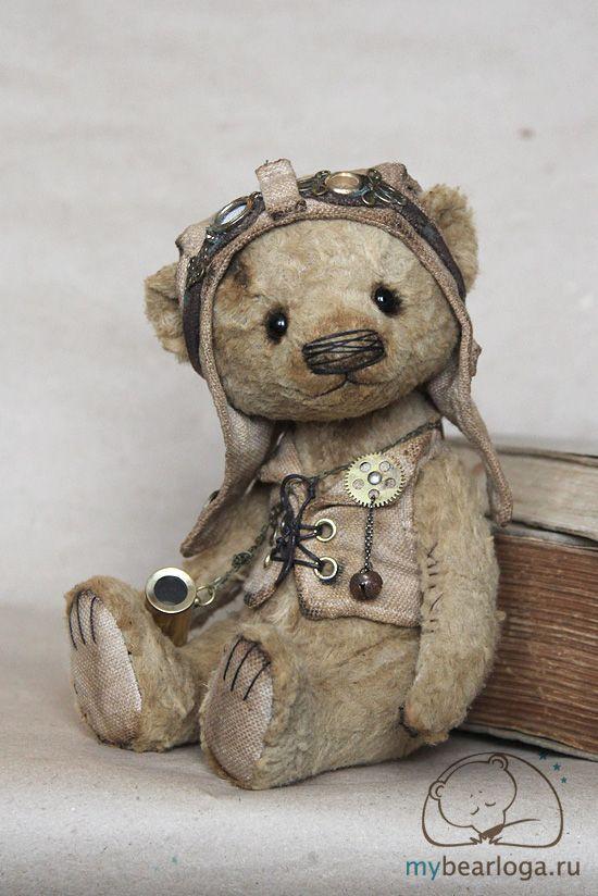 - steampunktendencies: Steampunk Teddy Bears By...