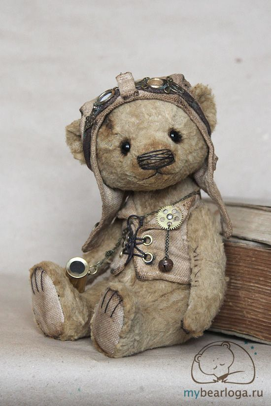 - steampunktendencies:   Steampunk Teddy Bears By...