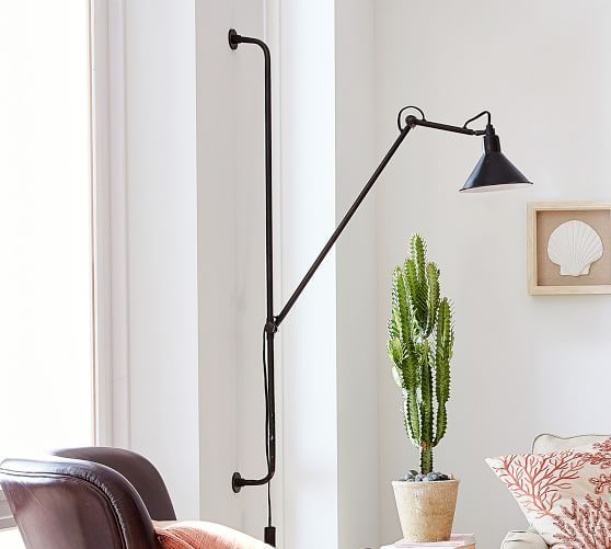 Leighton Adjustable Wall Sconce Candle Wall Sconces