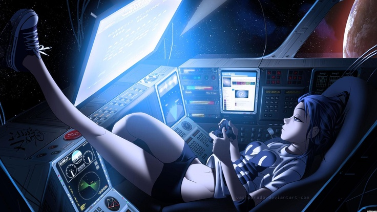 Charlotte Anime Nao Tomori Night Stars Girl 1920x1080