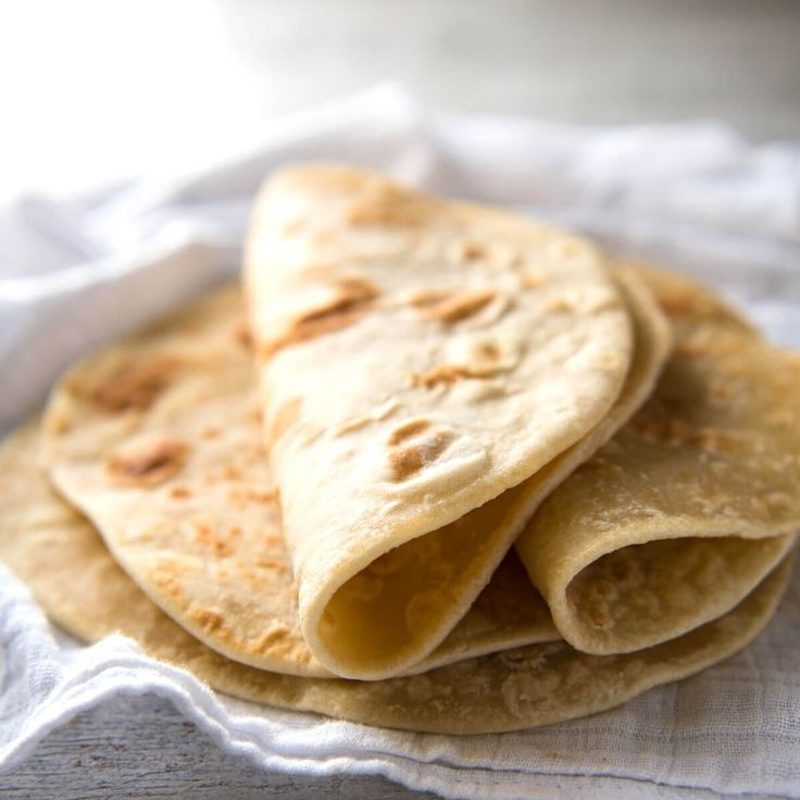 This flatbread recipe is made without yeast, yet is soft and pliable and wonderfully moist.