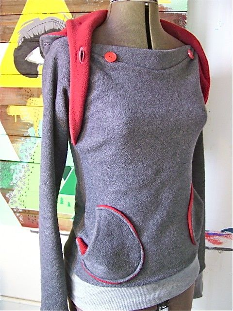 ON SALE This Week ONLY the Amazing Hoodie double collar by sewmoe