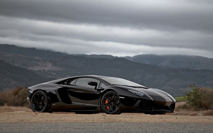 Lamborghini Aventador. If Darth Vader drove a car it would be this one.