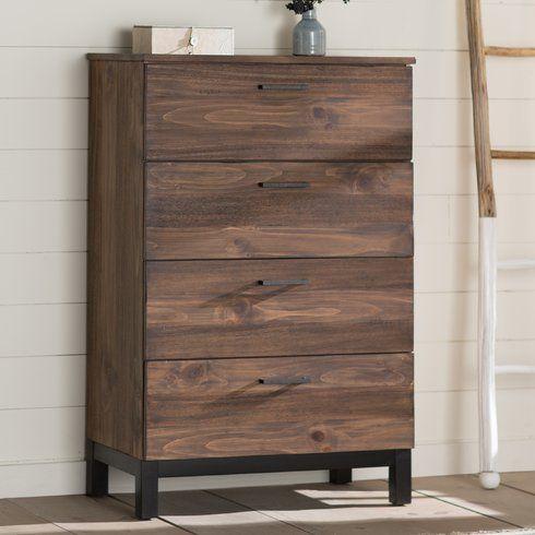 Best Wilma 4 Drawer Chest Furniture Rustic Furniture Diy 400 x 300