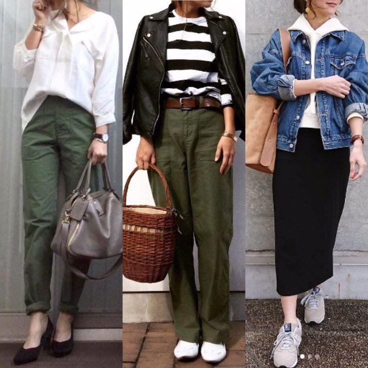 週一定例!instagram #ponte_fashion リポスト投稿から、みんなが選んだお気に入りコーデランキング! 先週は、「ボーダー」「ベイカーパンツ」「カーキ」「シンプル」「デニム」が人気でした! それではさっそくご紹介します! ※2017/03/20~03/26投稿分(2017/03/28 15:15集計) No.1:ボーダーコーデ/@bymyucoさん 出典:https://www.instagram.com/(@bymyuco)  ボーダートップスにベイカーパンツというカジュアルな着こなしならが、なぜがすっとした清潔感が。 ポイントはスニーカーではなく、ホワイトのバレエシューズ。 キリッと辛口に締めたライダースも◎ No.2:シンプルコーデ/@miyumo_21さん 出典:https://www.instagram.com/(@miyumo_21)  ベイカーパンツを取り入れたコーデが1、2位を独占。 こちらはGUのメンズサイズベイカー...