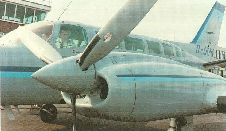 SKK C404 Titan GSKKC Southend Airport 1990