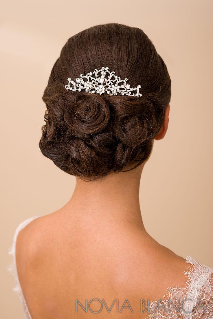 Vintage hair comb by www.novia-blanca.pl grzebyk do włosów