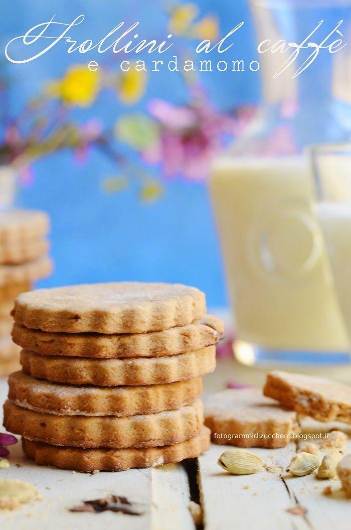Fotogrammi di zucchero: Frollini al caffè e cardamomo
