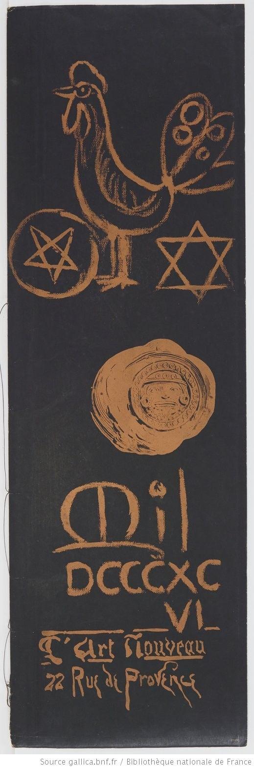 Calendrier magique : [estampe] / [lithographies de Manuel Orazi] ; [textes d'Austin de Croze]