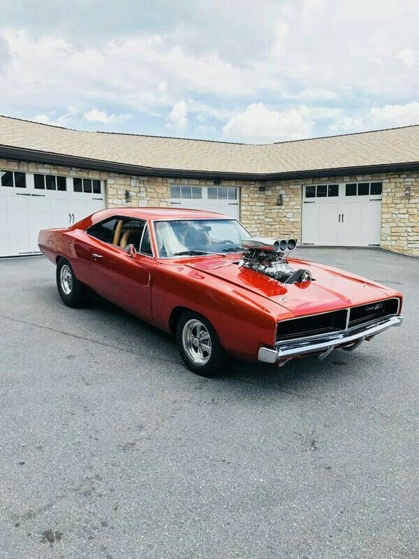 1969 Dodge Charger With Blower Race The Strip Not The Street