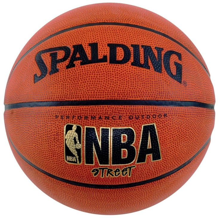 "Spalding NBA Street Basketball - Official Size 7 (29.5"") #Spalding"