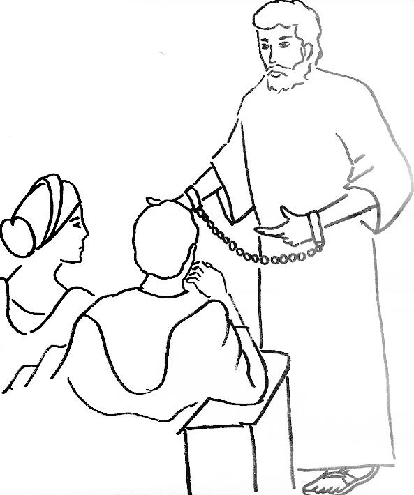 Bible Coloring Pages For Paul