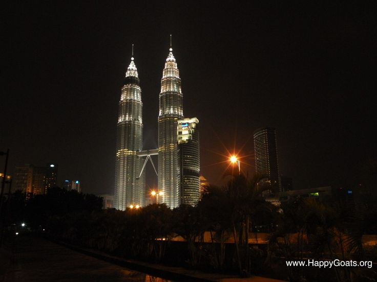 Petronas Twin Towers in Kuala Lumpur, Malaysia one of the highlights of our worldtrip.