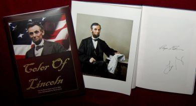 13 best history images on pinterest abraham lincoln coupon codes limited edition color of lincoln authors 1st edition hardcover book autographed plus full abraham lincolnhardcover bookscoupon codesebooks fandeluxe Image collections