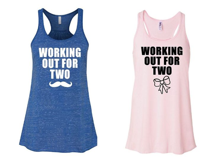 Working Out For Two - Flowy Maternity Workout Tanks by GraphicsUnlimitedLLC on Etsy https://www.etsy.com/listing/153578612/working-out-for-two-flowy-maternity