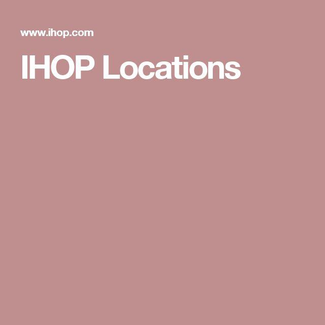 IHOP Locations