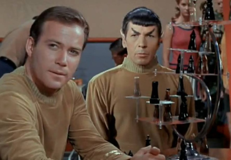 426 curated star trek the cage ideas by cathyi2013 pilots leonard nimoy and hunters - Star trek tridimensional chess ...