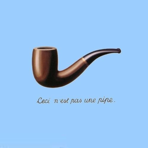 This is not a pipe. The Fault In Our Stars
