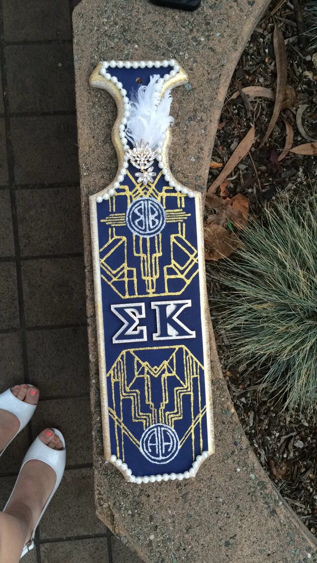 Kappa Alpha Theta Wooden Letters