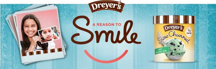 share a smile, it could mean the world to someone !!!!   (and a free cup of edys doesnt hurt! )