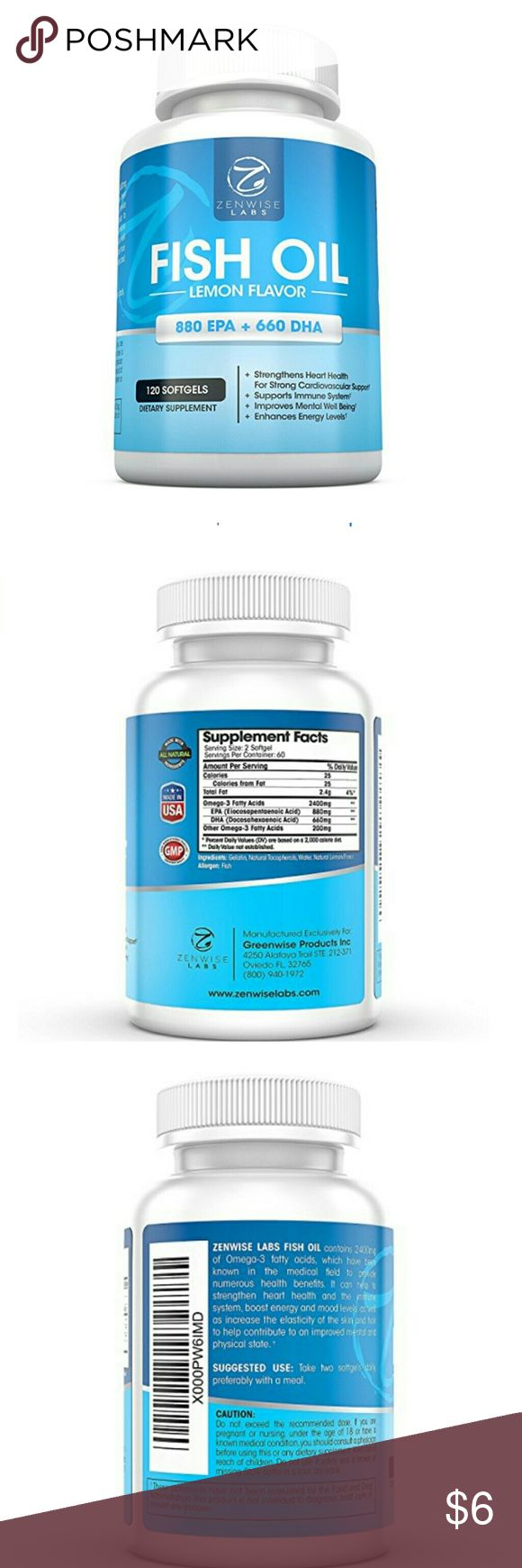 Reduce Joint Inflammation & More Tasteless and burpless Fish Oil dietary softgels help boost energy, brain function and mood levels, as well as reducing hip and joint inflammation, restoring skin elasticity and providing nourishment to hair. Also supports weight loss by regulating cholesterol to help you feel good in no time.  *BUNDLE WITH OTHER ITEMS TO SAVE ON SHIPPING & 15% OFF BUNDLE DISCOUNT* Other