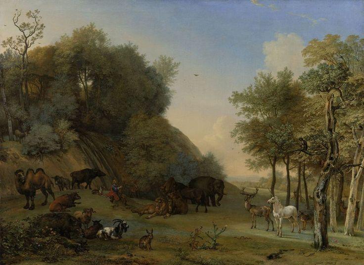 Paulus Potter - Orpheus en de dieren