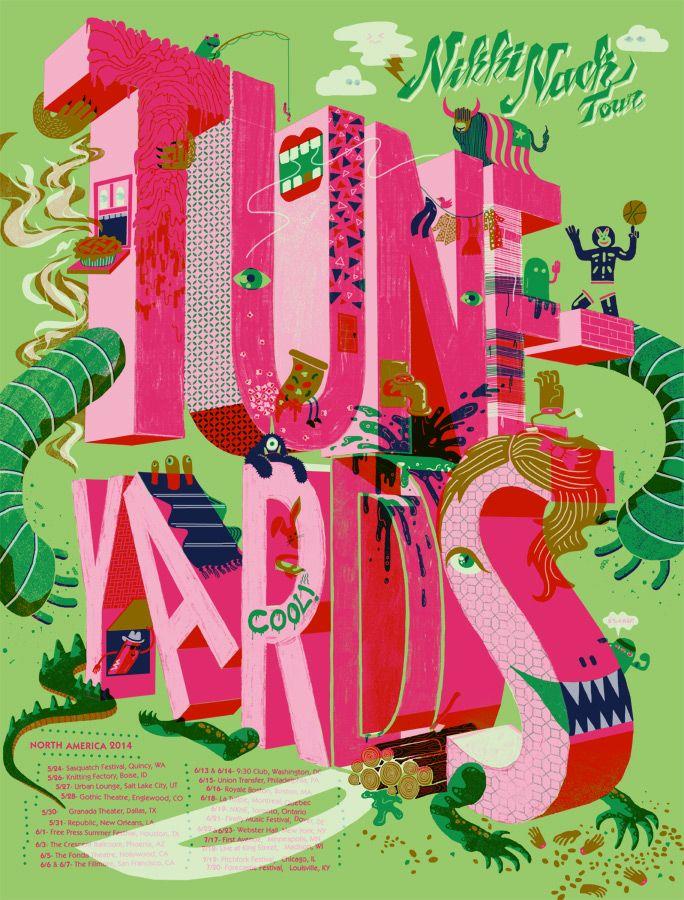 Tuneyards poster