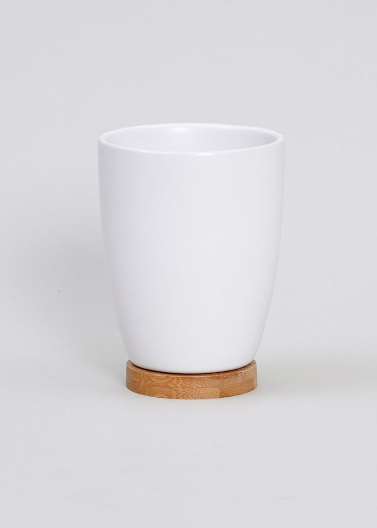£3 Matlan Bamboo detail helps to add natural colour and texture while this tumbler will keep your basin top tidy. Coordinating accessories available. Dimensions: 25cm...