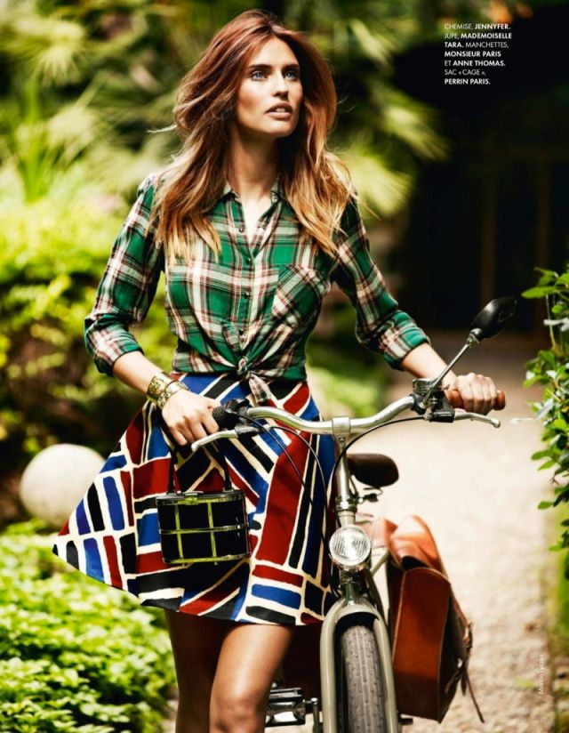 Bianca Balti Shines in the July Cover Shoot of Elle France | Fashion Gone Rogue: The Latest in Editorials and Campaigns