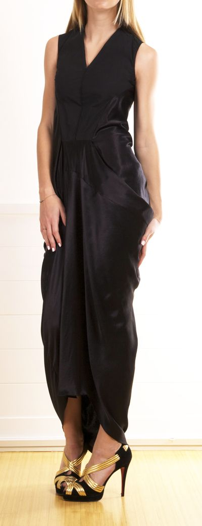 #RickOwens - Black Dress
