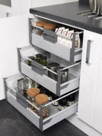 17 best images about kitchen storage solutions four for Kitchen base unit shelf