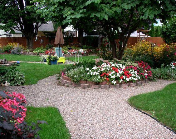 Las 25 mejores ideas sobre camino de grava en pinterest y for Caminos de piedra en el jardin