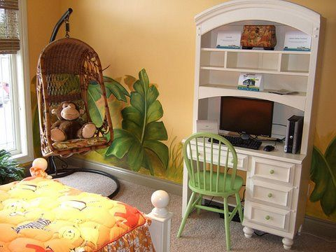 Room And Board Bedding hawii themd | jungle room theme, jungle wall murals, jungle theme bedding, cool ...