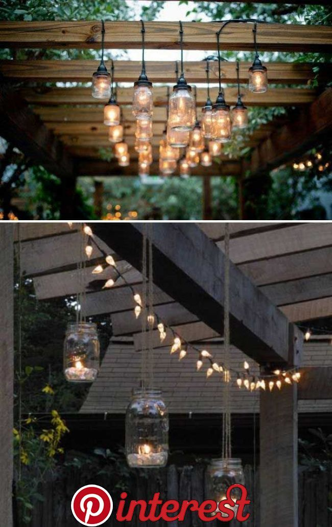 35 Amazing Diy Outdoor Lighting Ideas For The Garden 35 Amazing Diy Outdoor Lighting Ideas For The Garden Diy Outdoor Lighting Diy Patio Backyard Lighting