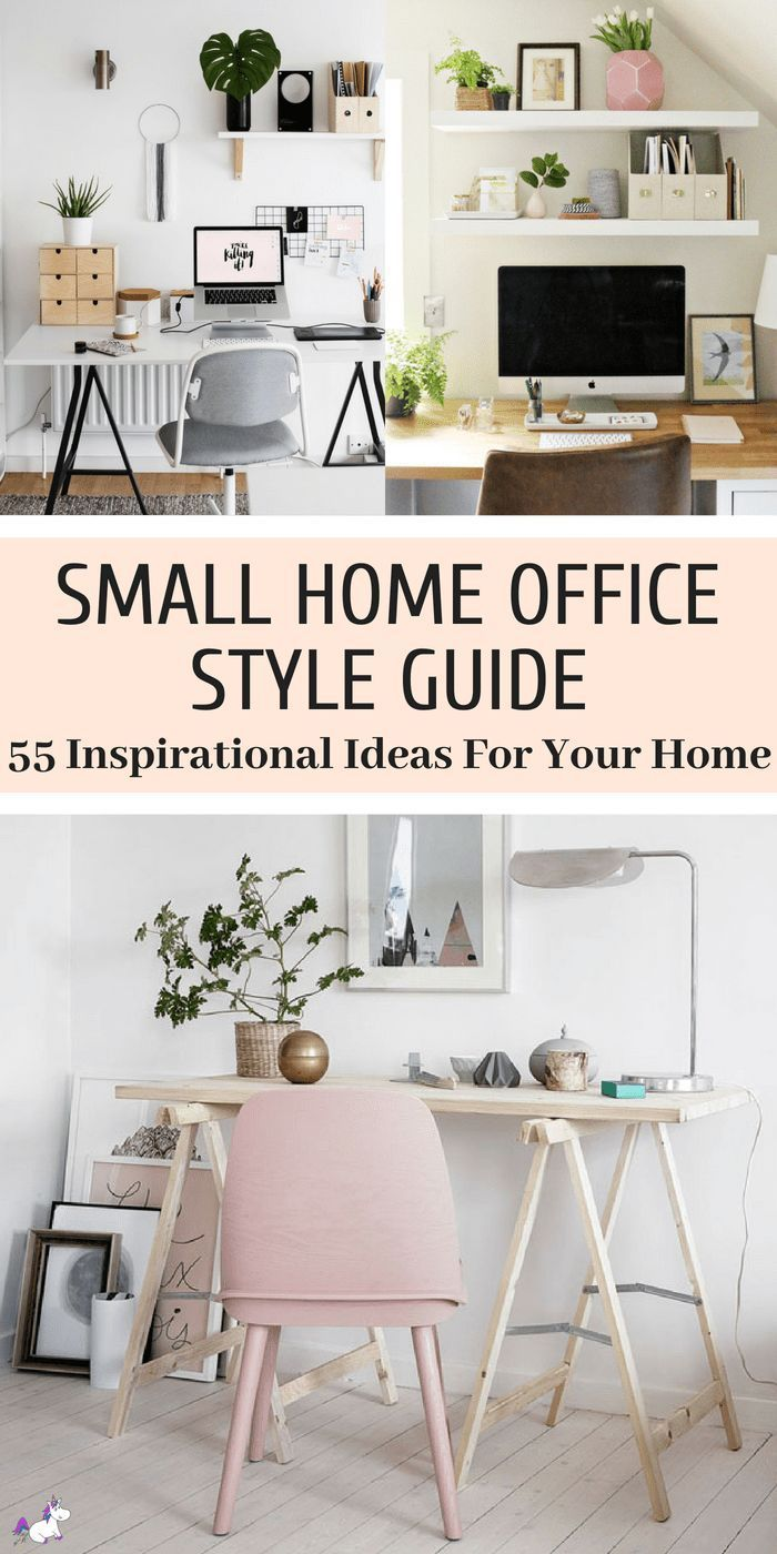55 Small Home Office Ideas That Will Make You Want To Work