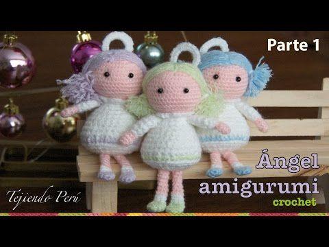 Amigurumi Angel - Weaving Peru ...Video. ༺✿Teresa Restegui http://www.pinterest.com/teretegui/✿༻