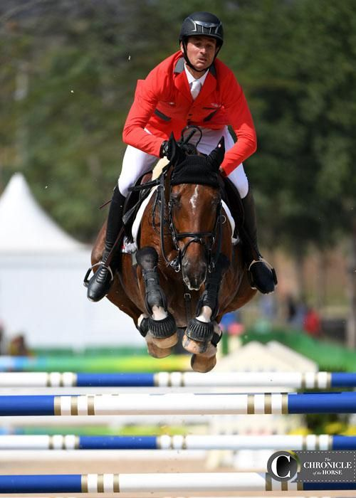 2012 Olympic champions Steve Guerdat and Nino Des Buissonnets had one rail down in the jump-off to finish fourth 2016 Rio Olympic Games - Individual Show Jumping FinalPhotos & Video | The Chronicle of the Horse