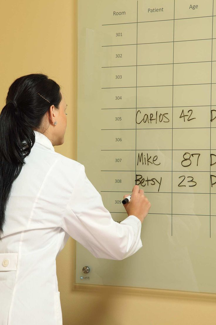 Organization - Glass Dry Erase Boards by Clarus